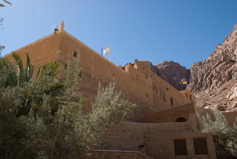 Monestary Walls 3 - St. Catherine's, Egypt