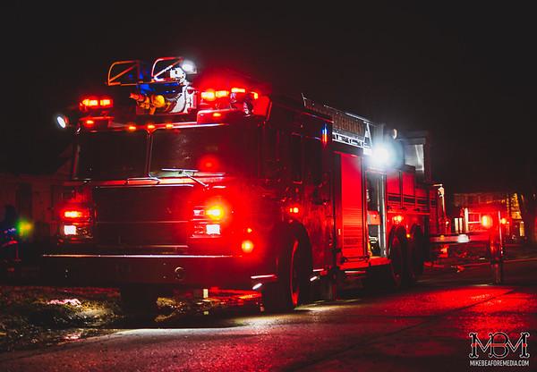 Detroit MI, House Fire 3-16-2020
