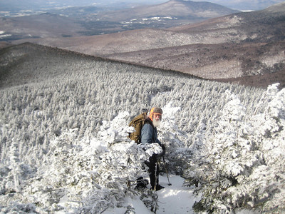 Killington winter hike