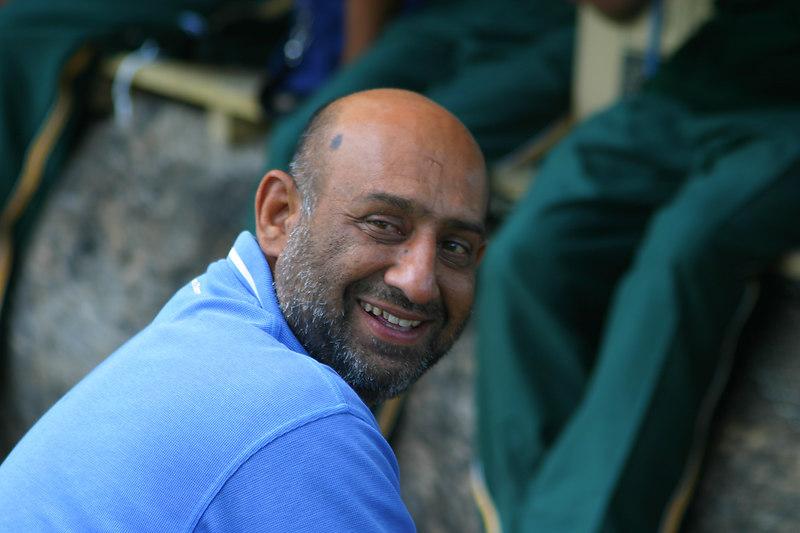 Col. Imran when we were in better spirits!
