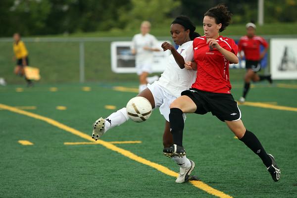 Carleton Ravens Womens soccer achive 08-09