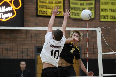 2013 GHS Boys Volleyball vs Red Mountain 3-5-13