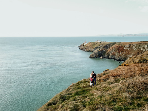 Zach and Kelsey's Howth engagement