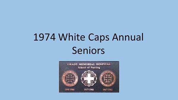 1974 White Caps Yearbook