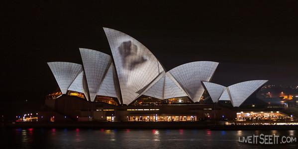 Vivid Sydney Light Festival 2012