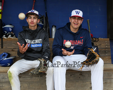 2019-5-13 WHS Baseball Pitchers Ben Allen and Brady Annis
