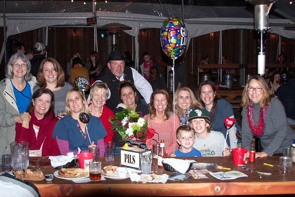A surprise retirement Party for Tracy...but she was out of town!