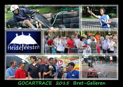 Gocart-race @ Heidefeesten Bret-Gelieren 29-08-2015