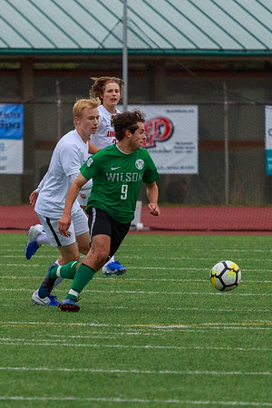 2019 Portland Mens Soccer Wilson vs Lincoln High school