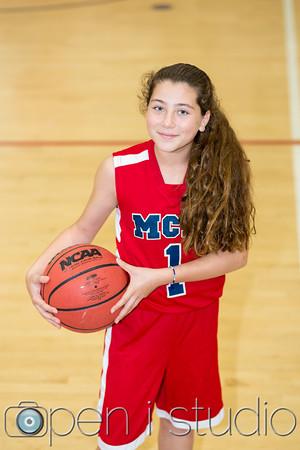2016 Middle School Girls Basketball