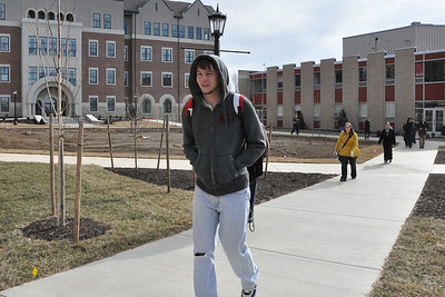 Jan 2012~Students On Campus