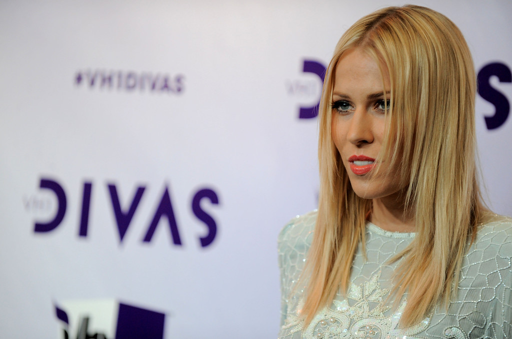 . Natasha Bedingfield arrives at VH1 Divas on Sunday, Dec. 16, 2012, at the Shrine Auditorium in Los Angeles. (Photo by Jordan Strauss/Invision/AP)