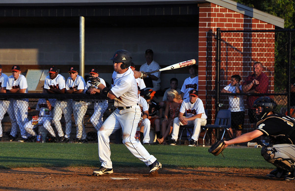Monticello vs. Powhatan Region II baseball 2012