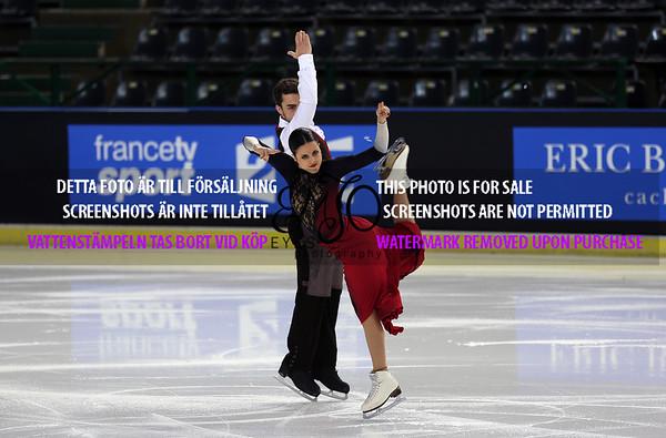 Trophée Eric Bompard Ice dance Short dance 2014