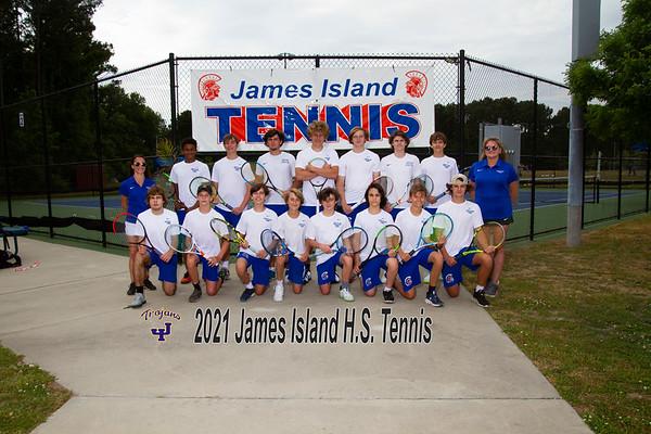 2021 James Island boys Tennis