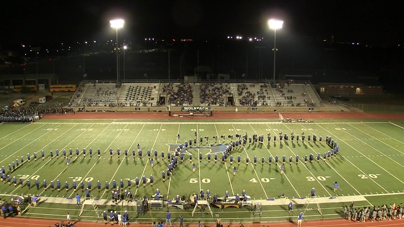 20170915 Game 3 PWSH Band Halftime Show