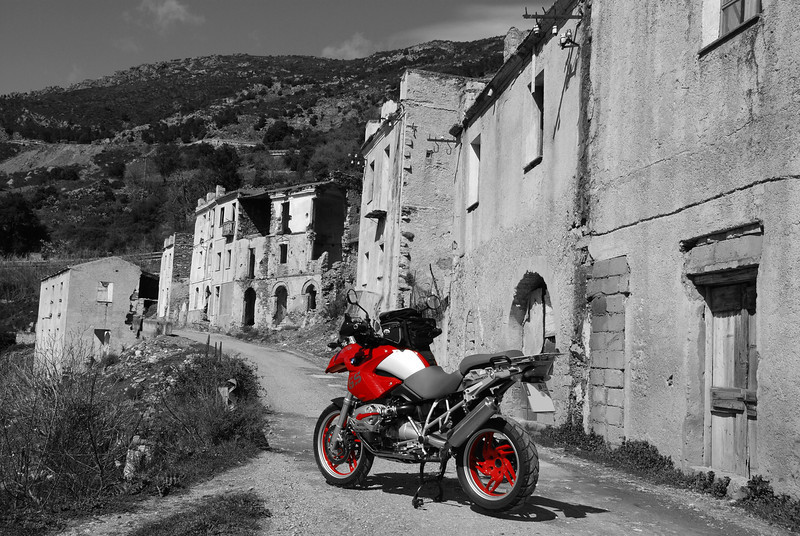 Another great image by German GS rider Markus (aka 'red-bull-gs') - R1200GS photo at Gairo in Sardinia (Sardegna) See his Flickr photo galleries here: http://www.flickr.com/photos/21857694@N05/