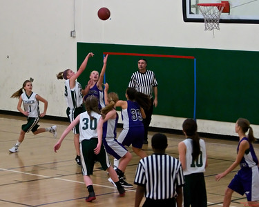 CT Girls Basketball vs Fisher 8th Grade