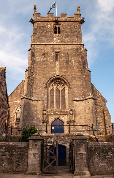 Corfe Castle church