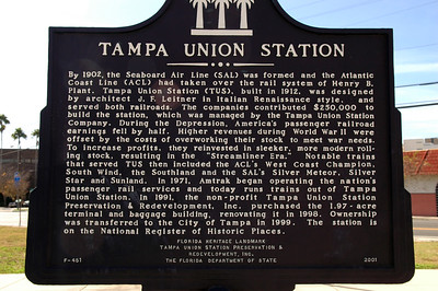 Tampa Fla on Amtrak