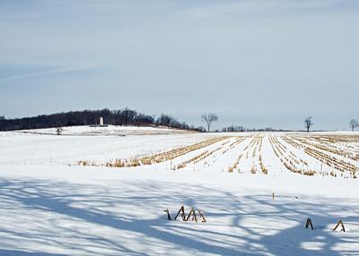 Gettysburg in Winter