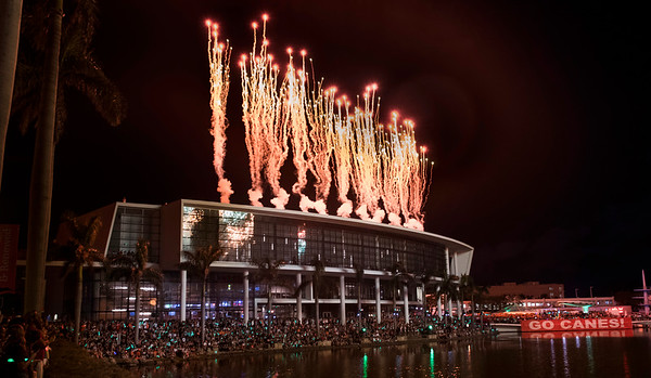 Boat Burning & Fireworks