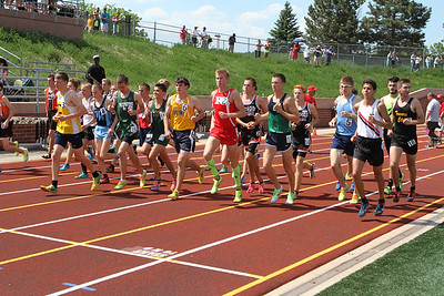D1 Boys' 3200 Meters Final - 2014 MHSAA LP T&F Finals