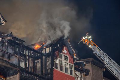 Richards Ave. Condo Fire (Norwalk, CT) 12/11/17