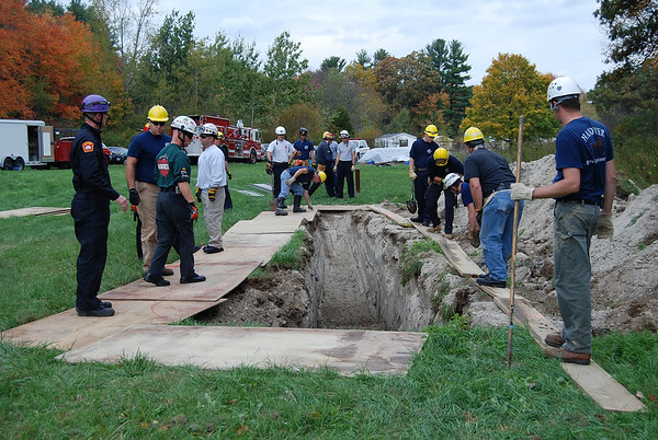 Trench Rescue Training 07