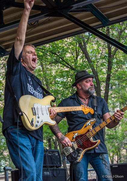 Walter and Johnny-Walter Trout Band-Lowertown Blues Festival 2015-Mears Park-St. Paul MN