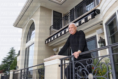 Famed NBA coach and former Seattle Supersonic star Lenny Wilkens palatial home in Medina, Washington home