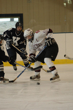 Loomis Varsity Ice Hockey vs. Kent 1/10/07