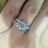 1.95ct Old European Cut Diamond Art Deco Ring, GIA L SI1 13