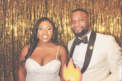 12-29-18 Atlanta The Temple Photo Booth - LaVonne Weds Segun - Robot Booth