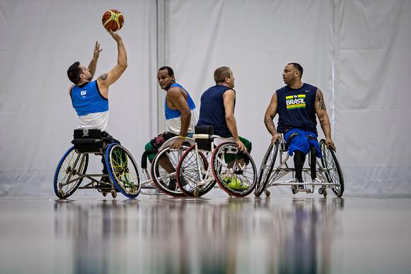 Preparação para os Jogos Paralímpicos Rio 2016