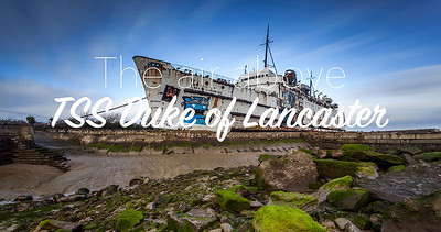 The air above: TSS Duke of Lancaster