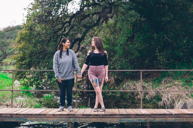 Kimmi & Mary Engagement at the Santa Rosa Plateau