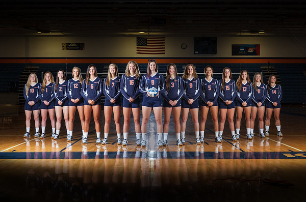 Wheaton College 2016 Volleyball