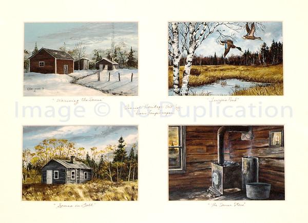 ALL D.S. FINN-AM HERITAGE ART: Paintings & Drawings