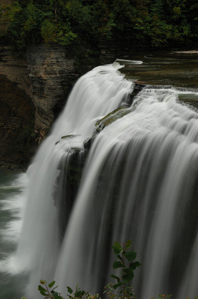 Letchworth State Park in NY  Middle Falls