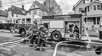 Structure Fire - 70 Preston St, Hartford, CT - 4/15/19