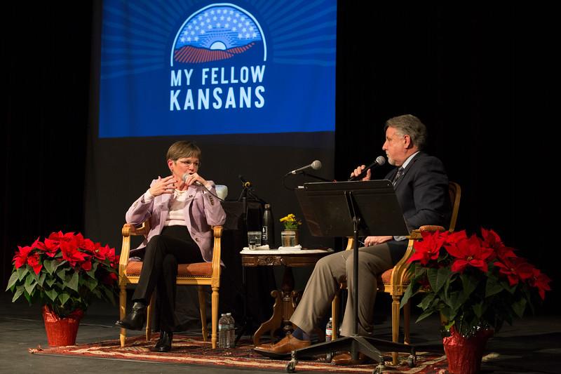 My Fellow Kansas Laura Kelly event
