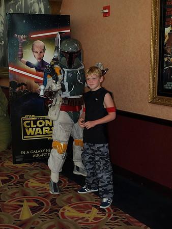 Clone Wars Premiere Boston MA