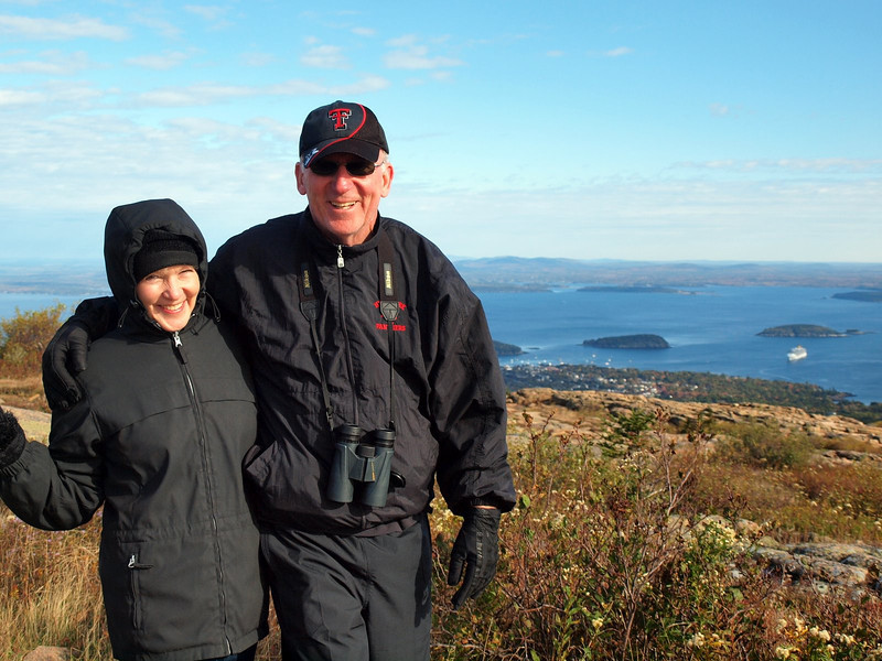 Mike & Linda - Cadillac Mountain, Acadia National Park