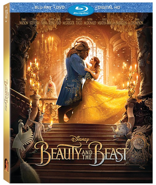 BEAUTY AND THE BEAST comes to home market June 6, plenty of bonus materials
