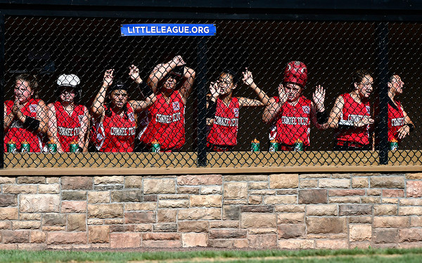 7/25/2018 Mike Orazzi | Staff Fairfield Girls Softball at Breen Field in Bristol Tuesday afternoon.