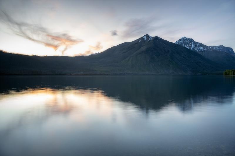 Glacial Sheen || Lake McDonald