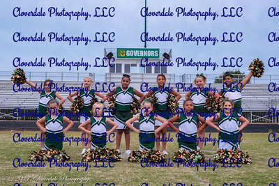 2017 Nelson County Cheer Squad - Juniors