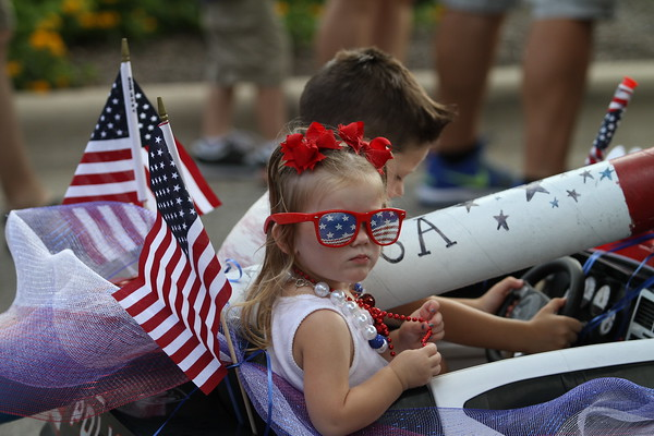 The 2015 Fourth of July parade in Plum Creek
