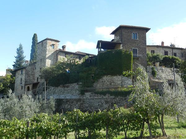 Greve, Radda, Castelina in Chianti, October 10, 2013